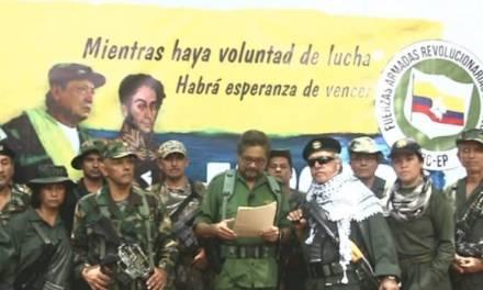 Disidentes de las FARC anuncian que retoman las armas