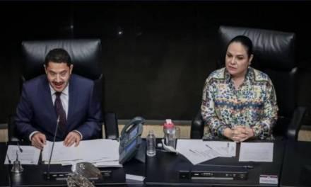 Ratifican a Mónica Fernández como candidata a la presidencia del senado