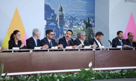 Firman gobiernos iniciativa conjunta de Ley del Consejo de Desarrollo Metropolitano