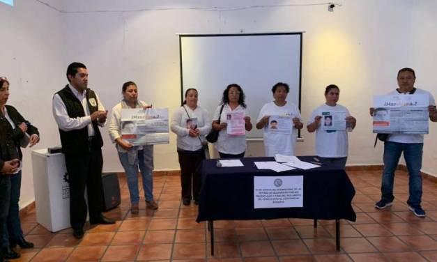 Piden datos sobre desapariciones en Hidalgo
