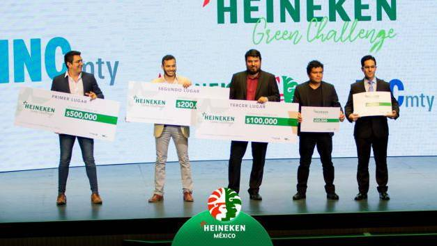Ofrece Heineken premios de hasta 500 mil pesos en «Green Challenge»