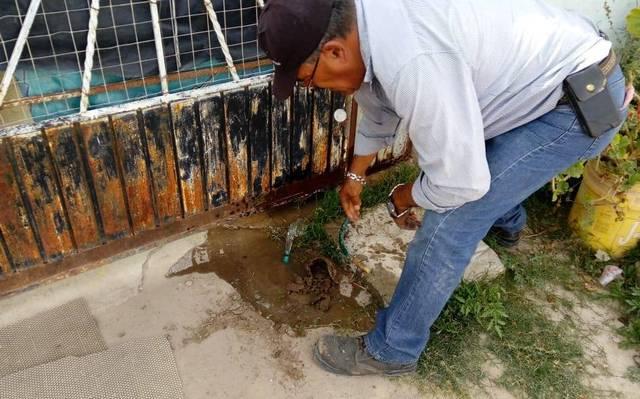 200 tomas de agua son suspendidas semestralmente en Tolcayuca