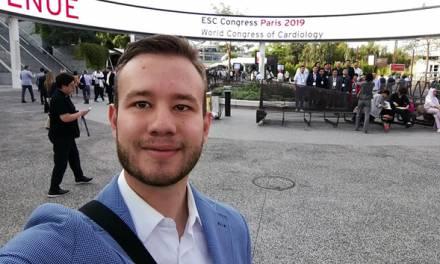 Participa estudiante de la UAEH Congreso Mundial de Cardiología en Francia