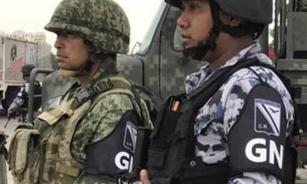 Encuentran muerto a elemento de la Guardia Nacional