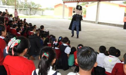Previenen delitos en infantes de Tolcayuca