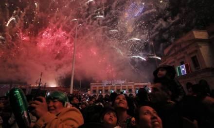 Celebran hidalguenses Grito de Independencia en ambiente de paz