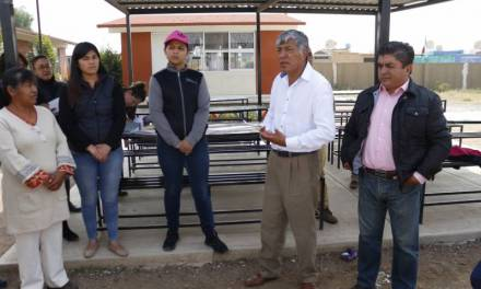 Autorizan construcción de techumbre que beneficiará a 700 estudiantes de primaria