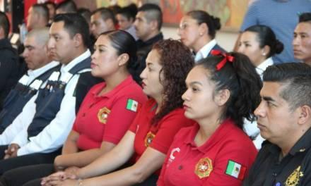 Ingresan 3 mujeres al H. Cuerpo de Bomberos de Tulancingo