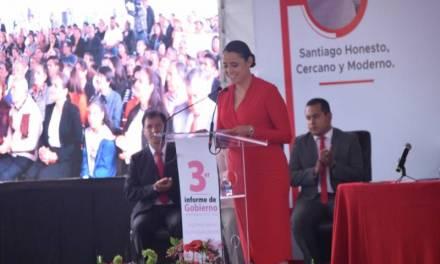 Invierte Santiago Tulantepec 28 mdp en obras durante el último año