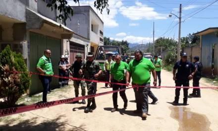 Explota cohetería en Santa María Atzompa, Oaxaca