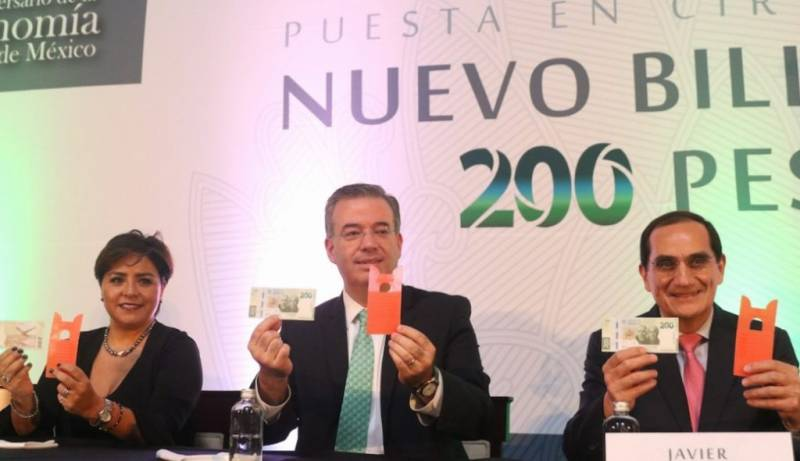 El Banco de México anuncia nueva moneda de $20