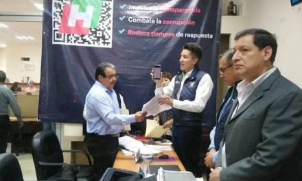 Lanzan aplicación para uso de Código QR para contratistas del gobierno estatal