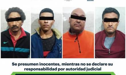 Asegura SSPH a sujetos armados y con inhibidor de señal en Emiliano Zapata