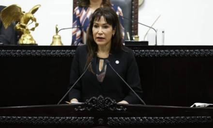 Reconoce diputada Perusquia, trabajo del ejecutivo estatal
