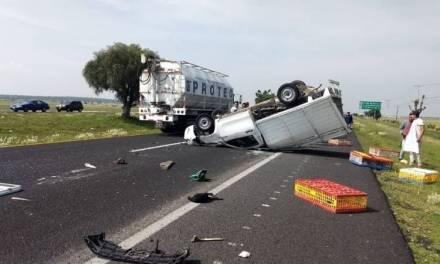 Accidente en la México-Pachuca deja una persona lesionada