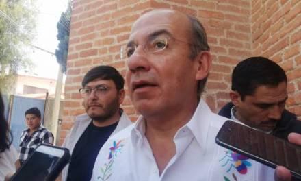 Amlo es como un «niño chiquito» que pone apodos: Calderón