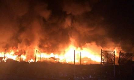 Reportan incendio en Tultitlán esta madrugada