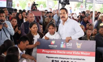 En Hidalgo, resultados que transforman: Omar Fayad