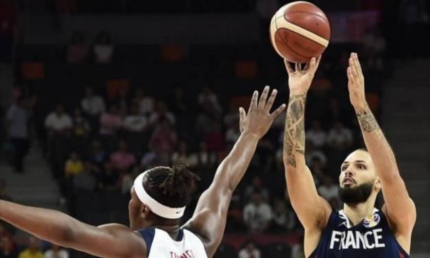 Francia elimina a Estados Unidos del Mundial de Basquetbol