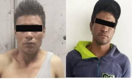 Detienen a dos individuos por presuntas actividades ilícitas en Pachuca