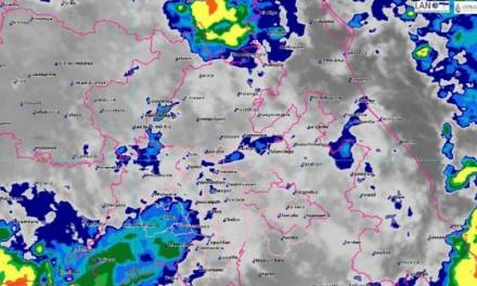 Aumenta probabilidad de lluvias vespertinas