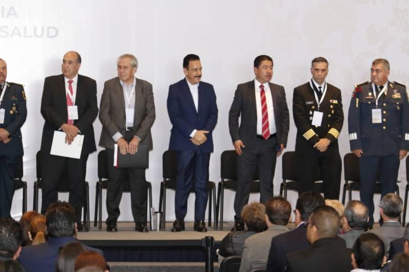En Hidalgo se llevó a cabo reunión para consolidar el Sistema Nacional de Salud