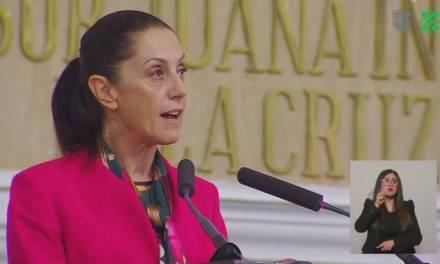 Claudia Sheinbaum rinde Primer Informe de Gobierno