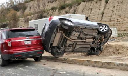 Se registra accidente en el Bulevar Nuevo Hidalgo