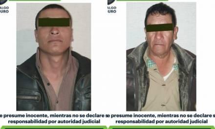 Dos detenidos tras presuntamente realizar detonaciones en Tlanalapa