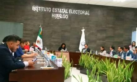 Definen topes de gastos de precampaña para proceso electoral de ayuntamiento