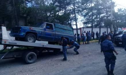 Policía Estatal detiene a presunto huachicolero en San Agustín Tlaxiaca