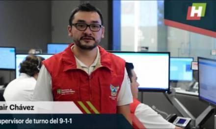 Con videollamada y geolicalización, auxilia C5i de Hidalgo a hombre con fractura expuesta