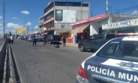 Dos presuntos delincuentes resulta heridos al enfrentar a policías en Actopan
