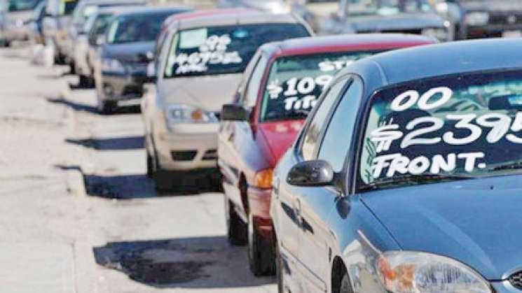 Empresarios se pronuncian en contra de la legalización de «autos chocolate»
