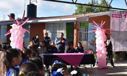 Acciones para prevenir cáncer de mama continúan en Zapotlán de Juárez