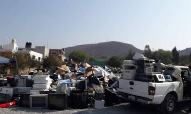 Anuncian campaña de reciclaje electrónico