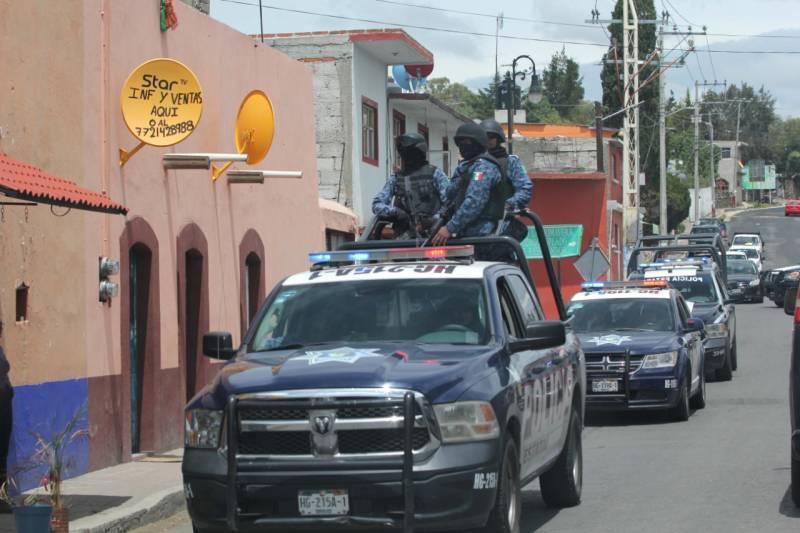 Operativo interestatal logra clausura de establecimientos en Huichapan