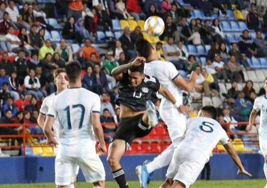 Mucho coraje, poco fútbol: México 1-1 Argentina