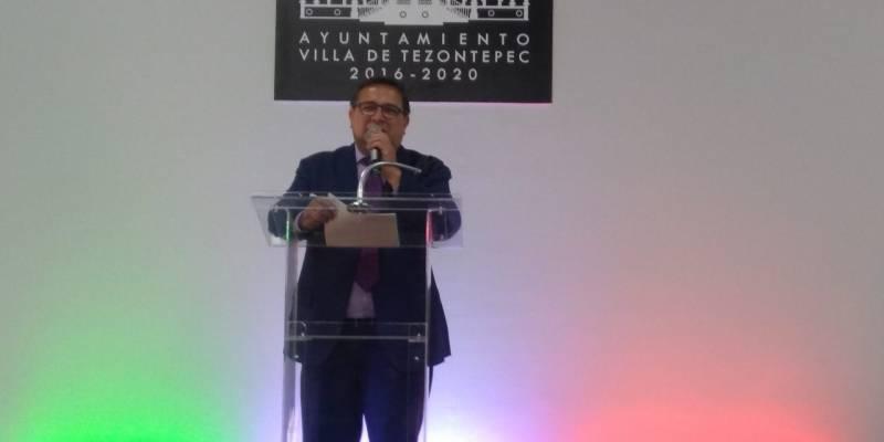 Alcalde de Villa de Tezontepec ocupa quinto lugar en evaluación estatal