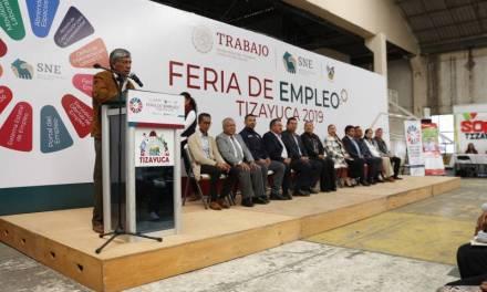 Realizan con éxito la Feria del Empleo Tizayuca 2019