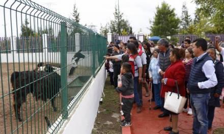 Levantan clausura provisional al Centro de Rescate Animal del Bioparque Tizayocan