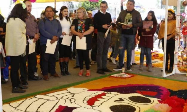 DIF Tizayuca promueve tradiciones de Día de Muertos