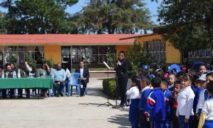 Destinan 3 mdp para techumbres de escuelas en Santiago Tulantepec