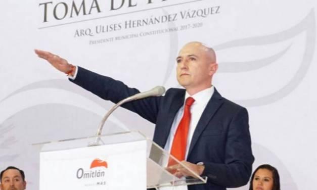 Alcalde de Omitlán de Juárez señalado de no atender sus funciones