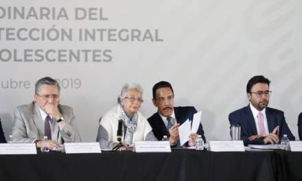 Fayad y Sánchez Cordero encabezan instalación de Comisión para la Protección Integral de infantes