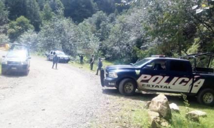 En límites con Veracruz, SSPH asegura a hombres armados y probable droga