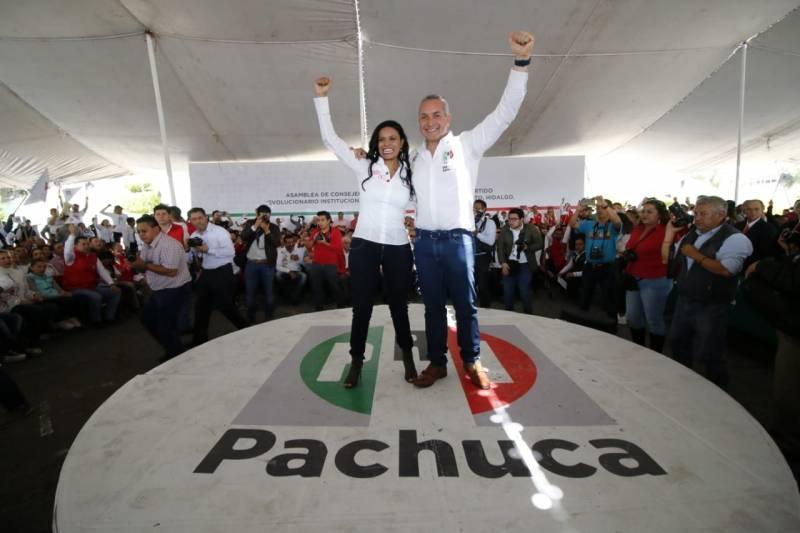 Sergio Baños toma protesta como presidente del PRI de Pachuca