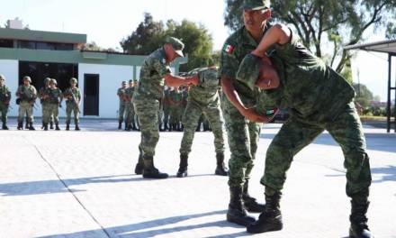 Imparte SSPH curso de defensa personal a 18va. Zona Militar