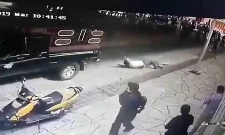 Arrastran con una camioneta a alcalde chiapaneco
