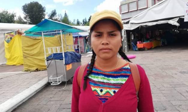 Gianeli recorre el país exigiendo la liberación de su padre, un activista Chiapaneco